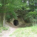 Szondy alagút bejárata