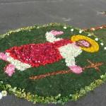 Úrnapi virágszőnyeg